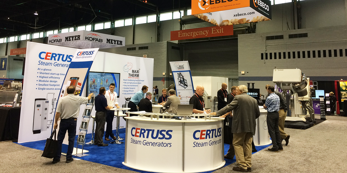 CERTUSS at Process Expo, Chicago 2017.