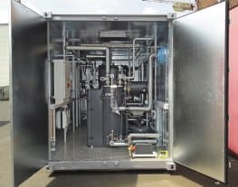 Pre-Installed Packaged Steam Boiler Room (Container)